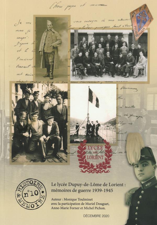 Le Lycée Dupuy de Lôme de Lorient - Mémoires de guerre 1939-1945